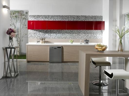 moderne und luxuriöse Geschirrspüler-Design