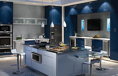 luxus k che wie w hlt man k chenger te. Black Bedroom Furniture Sets. Home Design Ideas