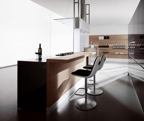 modern italian kitchen-kitchen island ideas