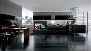 luxury modern kitchen -design