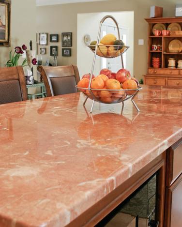 marbel countertop-pink