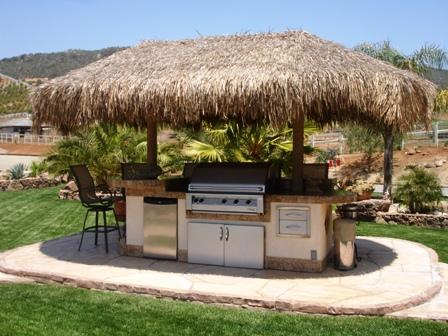 interesting summer kitchen design