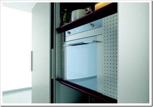zeitgenössische elektrische Küche Ofen-design