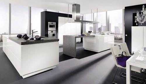 moderne Luxus-Küche