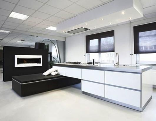 Luxus Küche: moderne Küchen mit Fotozellen | {Küche modern luxus 82}