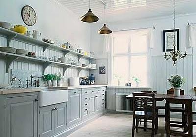 elegante  Küchenschrank  Design  in weiß