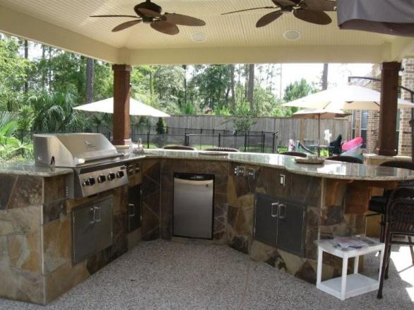 contemporary modern outdoor kitchen design and ideas