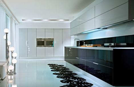 modern kitchen appliances-white kitchen-innovations