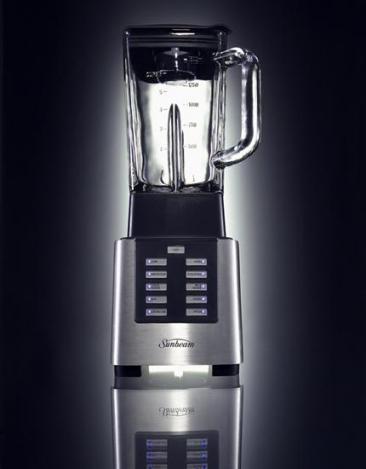 luxury modern kitchen blender-black-metallic