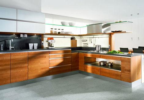 Luxus-Küche aus Holz Ideen