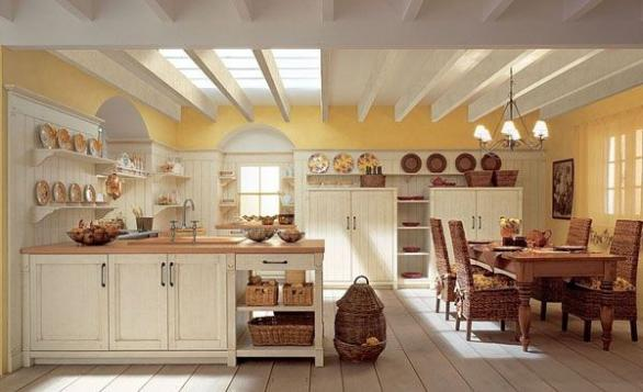 traditional kitchen decoration