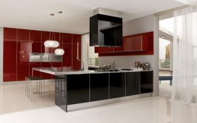 moderne und luxuriöse Küche Chip-Design