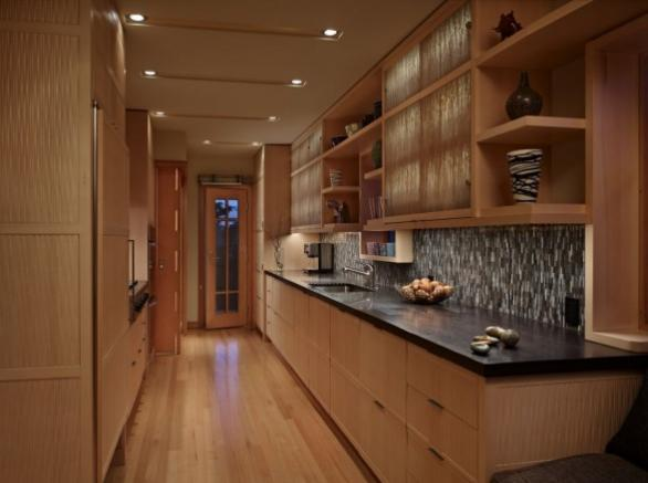 contemporary kitchen cabinets-wood