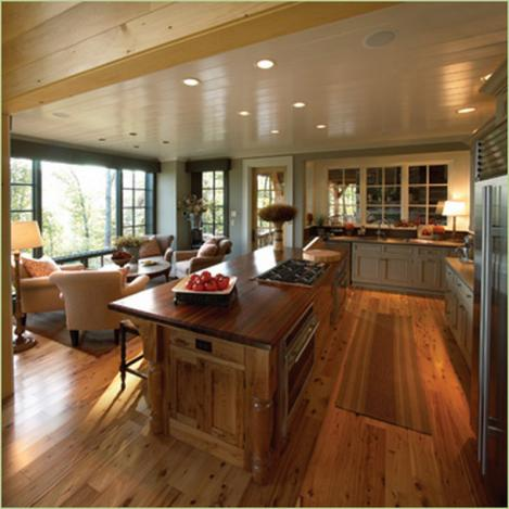 moderne Design der Küche Insel-Inneren Ideen